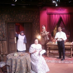 """Nancy"" in Gaslight at Theatre West, Los Angeles"