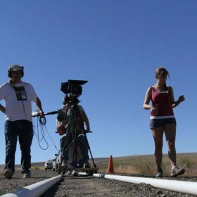 """Filming the feature film """"Purple Mind"""""""