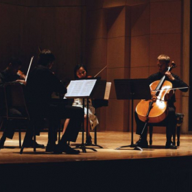 Beethoven String Quartet Op.18 No. 4 at Green Mountain Chamber Music Festival, Vermont 2013 
