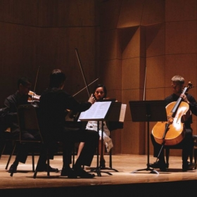 Beethoven String Quartet performance at Green Mountain Chamber Music Festival, Vermont 2013