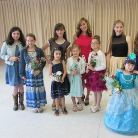 My students and I at the Spring Recital!