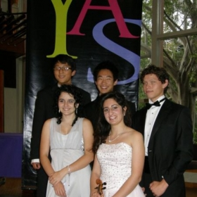 Solo performance with YAS chamber ensemble 2010