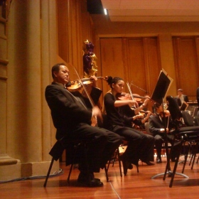 side by side performance with San Diego Symphony 2011