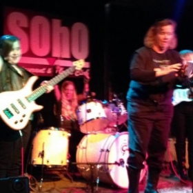 My pleasure to introduce... The Black Vans at Soho for Girls Rock SB.
