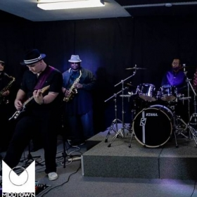 Practice with the funk/RNB band!