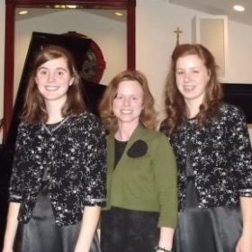 A 2014 recital with two of my graduating seniors included selections by Beethoven, Bach, Rachmaninoff, and others.