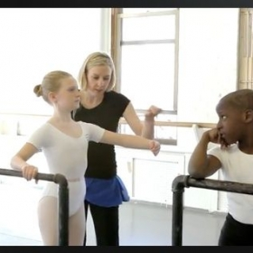 Teaching at the Joffrey Ballet School