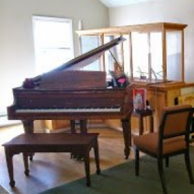 Our studio piano