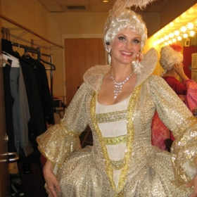Here I am in costume backstage at The Amaturo Theater filming as a soloist for HBO.