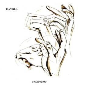 """Cover artwork from """"Dichotomy"""".  The independent debut from my  extreme metal solo project Davola.  Artwork by """"Cube in the Desert"""""""