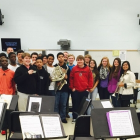 """Audition Success 101"" Master Class at AC Flora HS!"