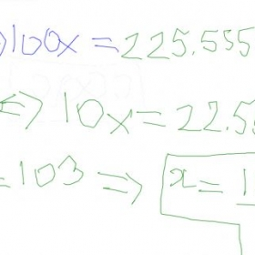 Common core math 8th grade online session #1  Me explaining how to convert repeating decimals into fractions