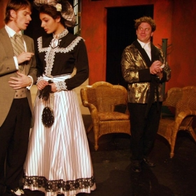 As Algernon from a production of The Importance of Being Earnest.