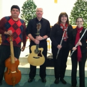 Christmas Traditions 2014- a concert I organized at my church.