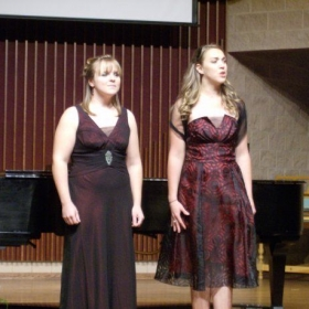 Duet with Niki Blackwell at Baker Performance Hall