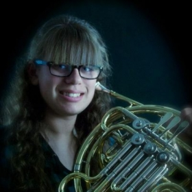 My primary instrument at Wayne State in horn. I've been playing for 5 years now.