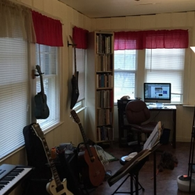 My teaching studio.