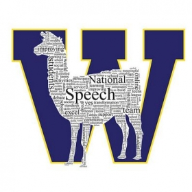 High school speech team logo