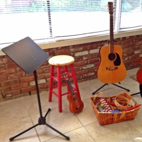 Ready for ukulele and guitar students and other young music-makers