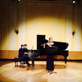 New England Conservatory graduation recital, 2014