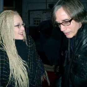 WIth legendary singer/songwriter Jackson Browne.
