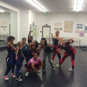 My 2014/2015 hip hop competition team