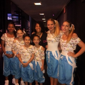 My 2013\\2014 hip hop competition team who came in Platinum. This was their first competition and they did an awesome job.