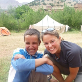 Leading student trip in Morocco