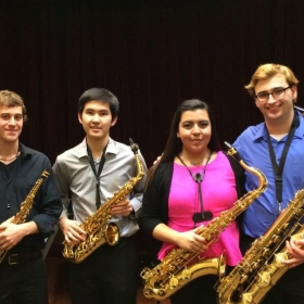 The New England Conservatory Saxophone Quartet