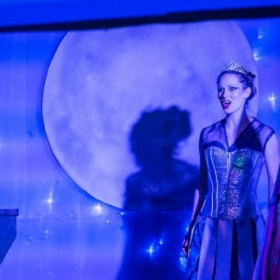"""Singing the role of Diana in """"La Calisto"""" with the Pacific Opera Project"""
