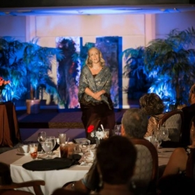 "Summer performance at Palm Aire Country Club in Sarasota, FL. Singing ""Willow Song"" from the opera ""The Ballad of Baby Doe""."