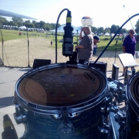 "Performing at ""Festival On the Lake"" in Alexandria, KY with the Campbell County Community Band."
