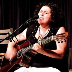 Performing at San Diego's iconic Java Joes