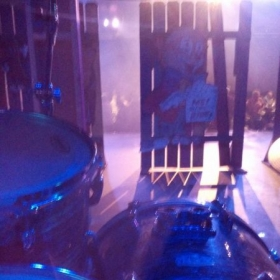 "A first person view of my set-up for ""All Shook Up"" with Kincaid Regional Theater."