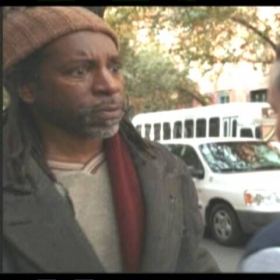 "HOMELESS MAN - from ""Spiraling Down"" (Law & Order: SVU)"