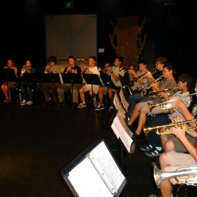 """Some of the students in my """"Summer Trumpet Camp and Workshop"""""""