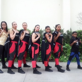 My 2014/15 hip hop competition team. This was on March 21st 2015.. they performed so well they got HIGH GOLD!!!