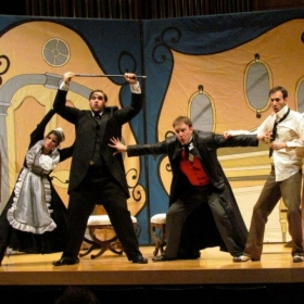 Berta in Barber of Seville (Left)