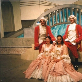 "Performing Gianetta in ""The Gondoliers"""