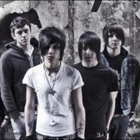 Black Veil Brides Promos. I'm on the far right. Stage name was Zachy Heartless.
