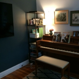 Home studio space