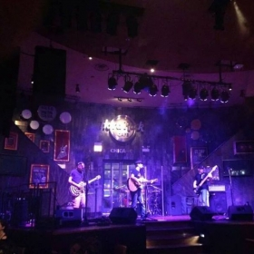 Me playing with Shannon Richardson Band at Hard Rock Cafe, Chicago