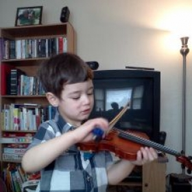 Even the youngest players can have great technique and enthusiasm for music