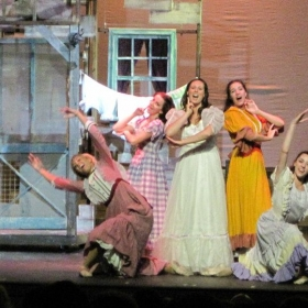 Rachel starring as Laurey in Oklahoma!