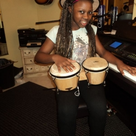 Bongos are so much fun...