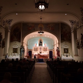 A solo recital at Our Lady Help of Christians Chapel, Buffalo NY