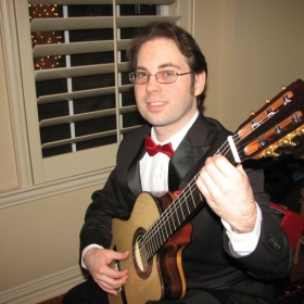 Performing Spanish and Flamenco Repertoire for a Valentine's Day gig, 2015.