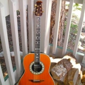 Ovation GCA Guitar.