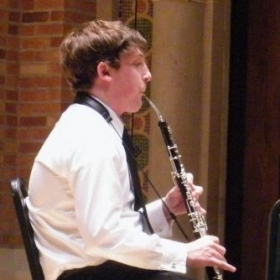 English horn freshman year at Canisius College for a student-faculty recital.