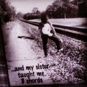 and my sister taught me 3 chords , how ironic she did and off and running I went!!!! I knew more then 40 songs in two weeks